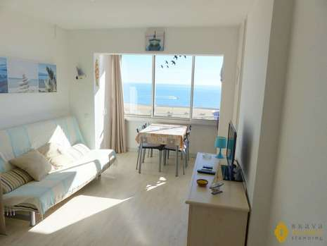 Superb apartment in 1st line of sea for sale in Empuriabrava