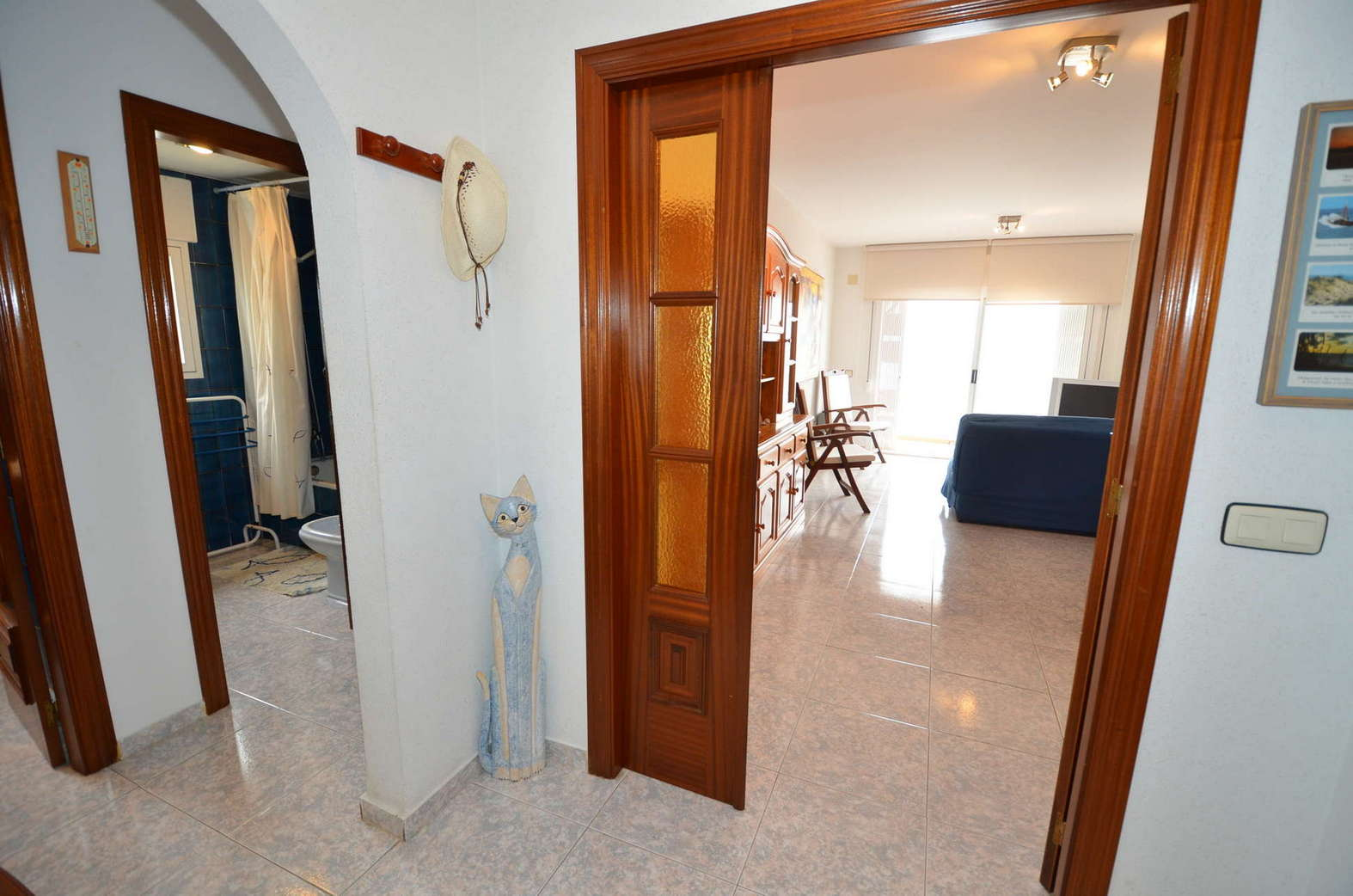 Beautiful appartment with sea view and swimming pool for sale in Rosas