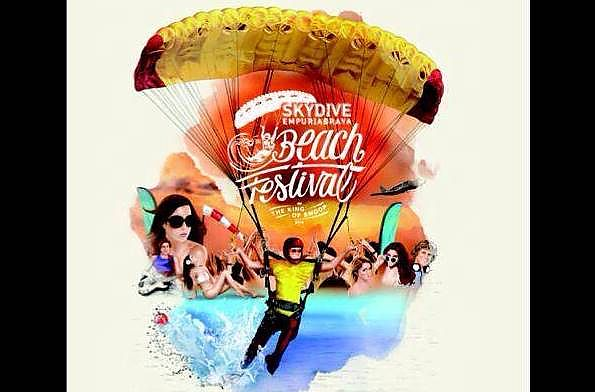 "The ""Skydive Empuriabrava Beach Festival"" incorporating the ""King of Swoop"" from 21st until the 27th July 2014"